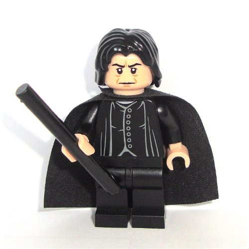 Professor Snape with Wand