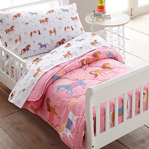 Wildkin 4 Pc Bedding, Toddler, Horses