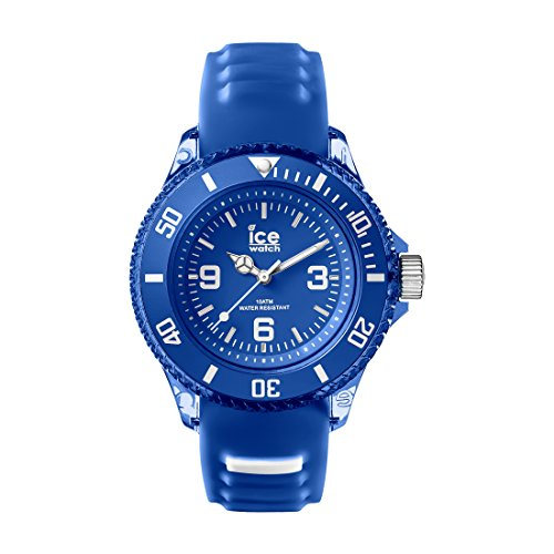 Ice-Watch AQ.MAR.S.S.15 Ice-Aqua Small Marine Blue Silicone Strap Watch by Ice-Watch