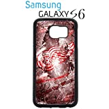 Detroit Red Wings Samsung Galaxy s6 Case Hard Silicone Case