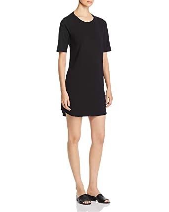 b8411fe187d Eileen Fisher Black Jersey Dress at Amazon Women s Clothing store
