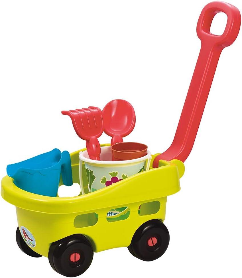 Ecoiffier- Carrito Garni - Herramientas de jardín para niños a partir de 18 meses - Fabricado en Francia 4344 , color/modelo surtido