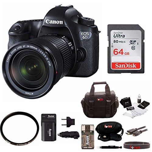 Canon EOS 6D 24 105mm Bundle product image