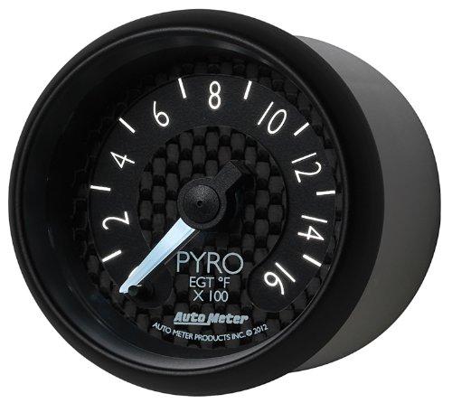 Auto Meter 8044 GT Series Electric Pyrometer/EGT Gauge by Auto Meter (Image #2)