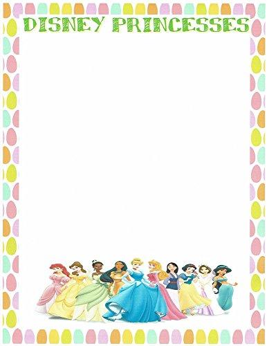 Princess Stationery - Disney Princesses Stationery Printer Paper 26 Sheets