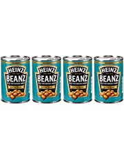 Heinz Baked Beans in Tomato Sauce, 415 gm (Pack of 4)