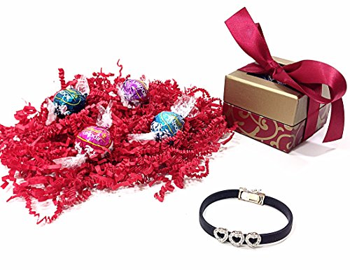 valentines-day-gift-boxed-lindt-gourmet-truffles-chocolate-candy-sterling-silver-hearts-charm-bracel