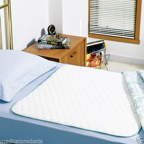 6 NEW BED PADS REUSABLE UNDERPADS 34x36 HOSPITAL GRADE IN...