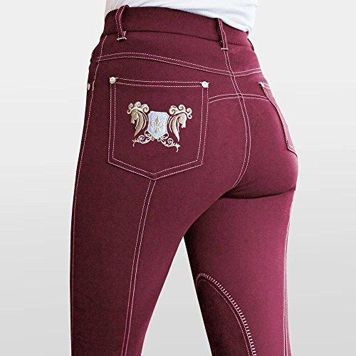 Mark Todd Damen Skinny Jeans Stiefelhose–Schwarz