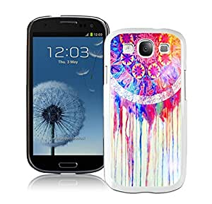 Cute Samsung Galaxy S3 Case Colorful Dream Catcher White Cell Phone Case Cover