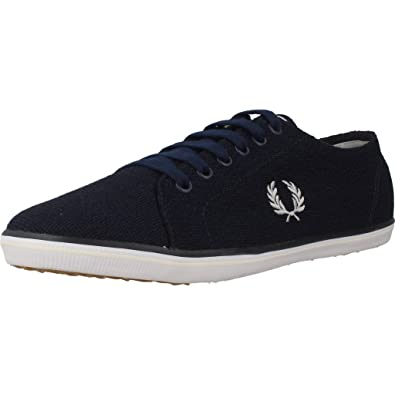 Fred Perry Kingston Jersey Carbon Blue B9094266, Basket - 42 EU