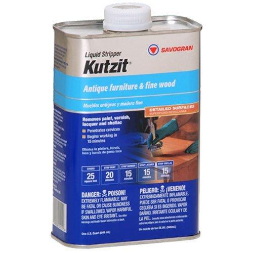 Savogran 01112 Liquid Stripper Kutzit Paint/Varnish Remover, Quart