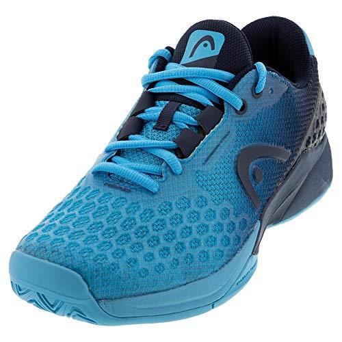 HEAD Men`s Revolt Pro 3.0 Tennis Shoes Aqua and Dark Blue (8)