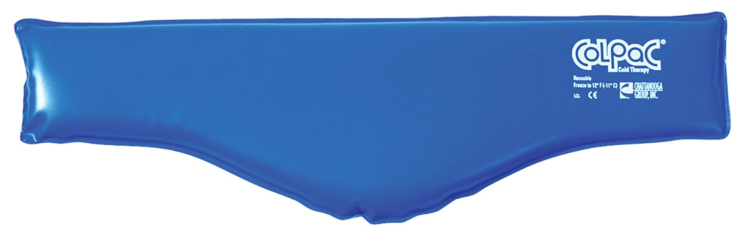 ColPaC Blue Vinyl Cold Pack - neck - 6'' x 23'' - Case of 12 by Fabrication Enterprises