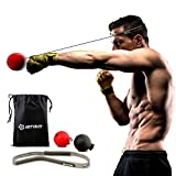 Get Out!! Boxing Reflex Ball Set – Agility Training Headband Boxing Ball on String, Boxing Training Reaction Ball