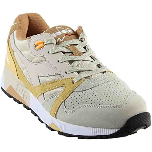Diadora Mens N9000 Double L Sneaker Moonbeam / Impala