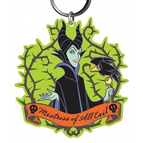 [해외]Disney Villains Maleficent 소프트 터치 PVC 키 체인/Disney Villains Maleficent Soft Touch PVC Keychain