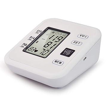 YHMMOO USB Tensiómetro de Brazo Detección de Pulso Arrítmico con Función de Voz y Gran Pantalla LCD,2 x 99 Memoria,Beige: Amazon.es: Deportes y aire libre