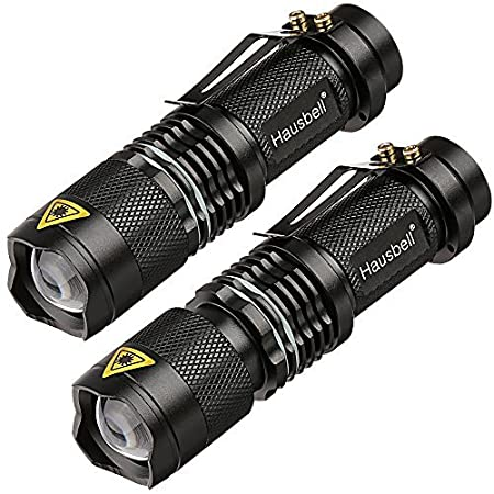 Review Flashlights,Hausbell 7W Ultra Bright