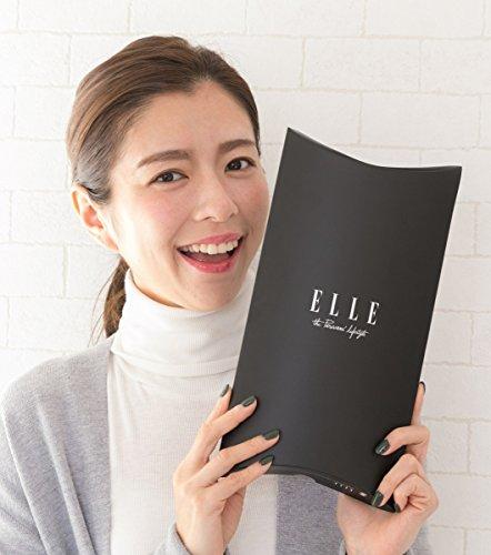 ELLE (エル ) 指無し セミ ロング UV 手袋 ハート メッシュ 滑り止め 付き 綿 シフォン アニマル柄