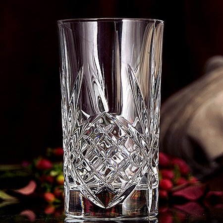 Godinger Dublin Crystal Set of 12 High Balls, Item # 25723