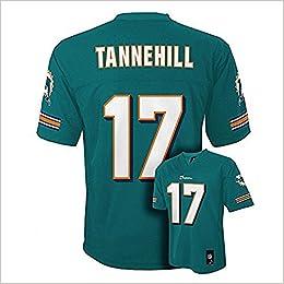 Amazon.com  Ryan Tannehill Miami Dolphins Aqua NFL Kids 2016-17 Season Mid  Tier Jersey (Kids 4) (0007352949629)  Books ba3ee146e
