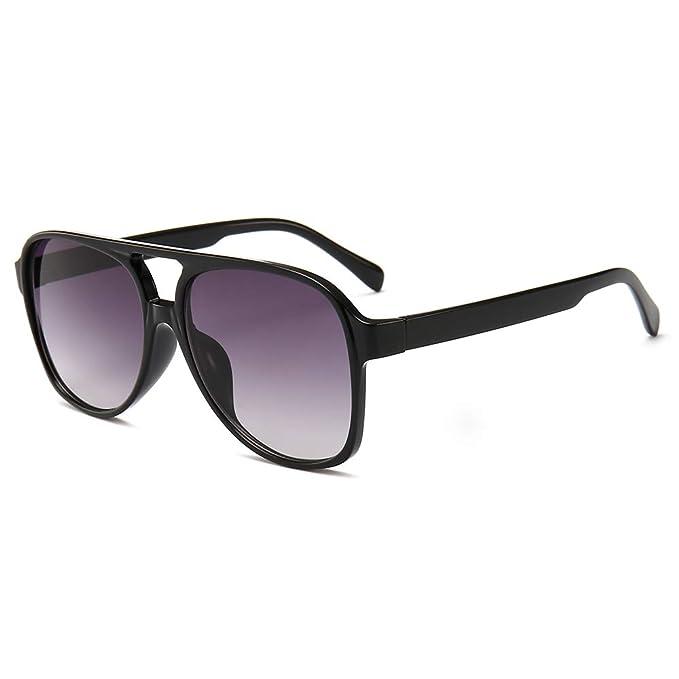 Amazon.com: Gafas de sol clásicas de Aviator de Chauo, 100 ...