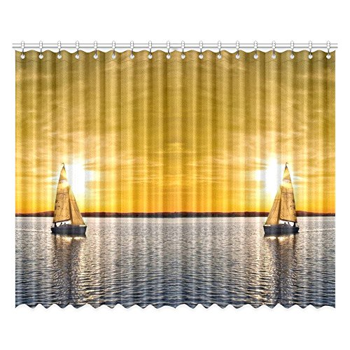 Personalized Boat Sunset Sea Creative Home Decoration Design
