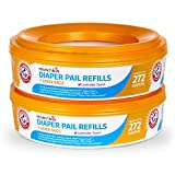 Baby : Munchkin Arm and Hammer Diaper Pail Refill Rings, 544 Count