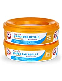 Munchkin Arm and Hammer Diaper Pail Refill Rings, 544 Count BOBEBE Online Baby Store From New York to Miami and Los Angeles