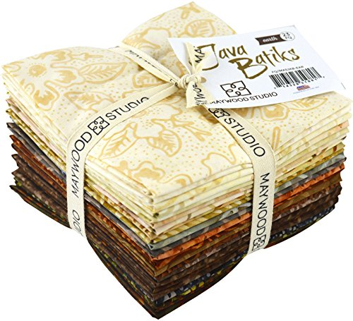 Batik Earth (Java Batiks Earth 23 Fat Quarter Bundle Maywood Studio)