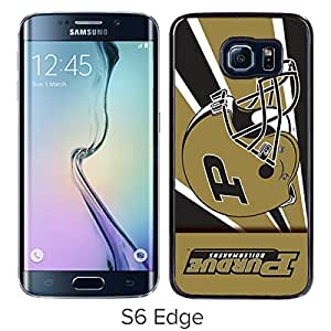 Ncaa Purdue Boilermakers 14 Black Hard Shell Phone Case For Samsung Galaxy S6 Edge G9250
