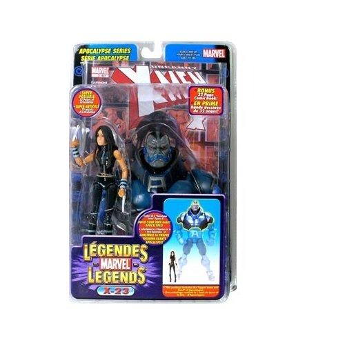 X Men Black Costume (Marvel Legends #12 Apocalypse Series: 6