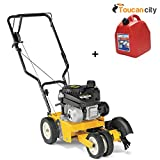 Toucan City Gas Can and Cub Cadet LE100 9 in. 140cc Tri-Tip Blade 4-Cycle Walk-Behind Gas Lawn Edger/Trencher LE100