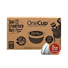 San Francisco Bay OneCup, Fog Chaser, 80 Single Serve Coffees