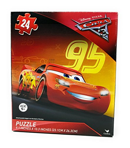 24 Piece Puzzle v6 Disney Pixar Cars 3 Lightning McQueen