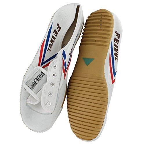 TMAS Feiyue Martial Arts Shoes, White, 40