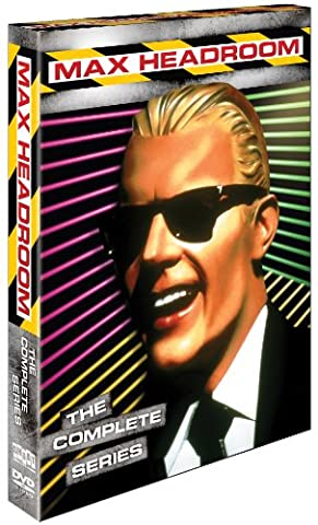 Max Headroom: The Complete Series (Max Headroom Complete Series Dvd)