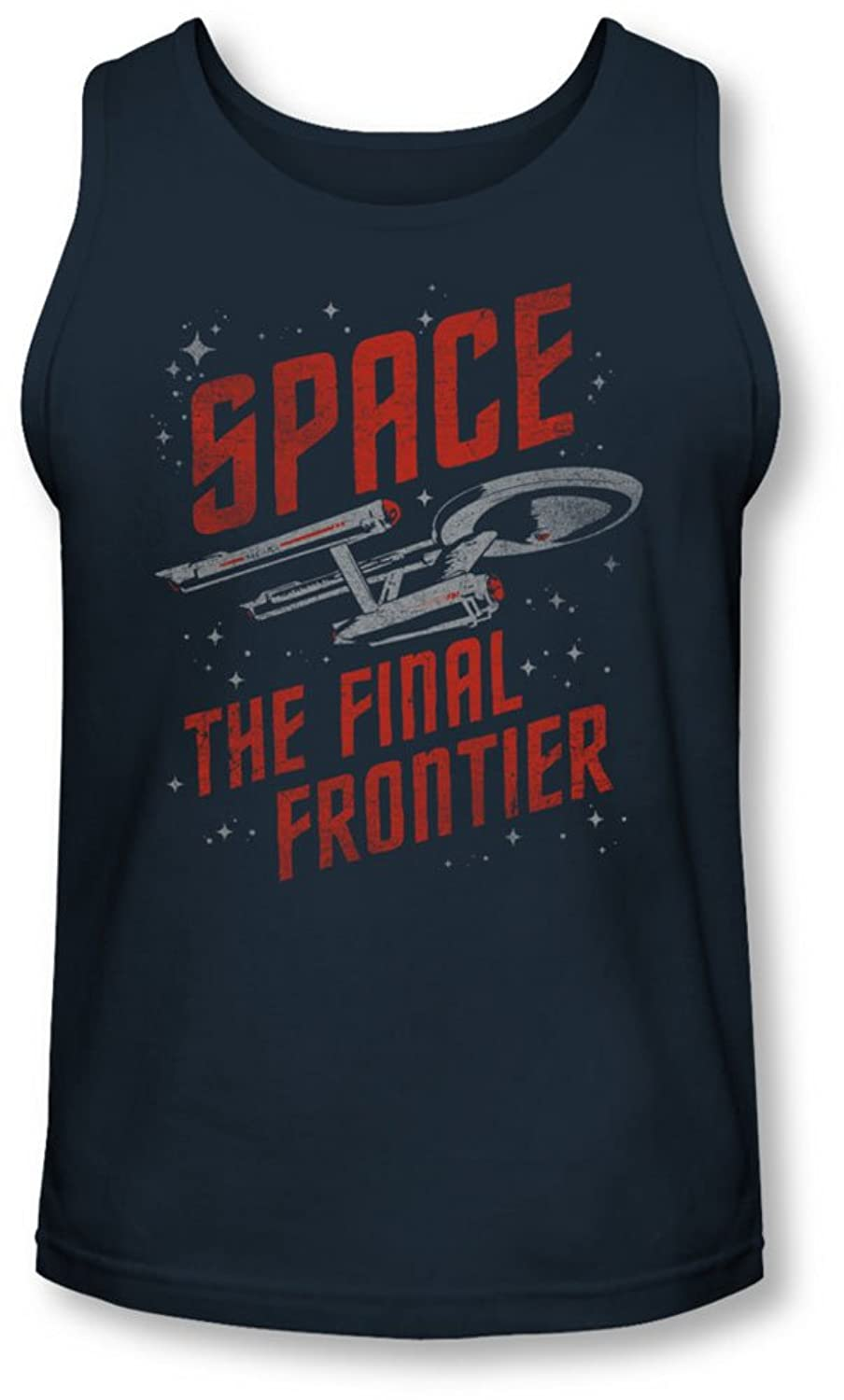 Star Trek - Mens Space Travel Tank-Top