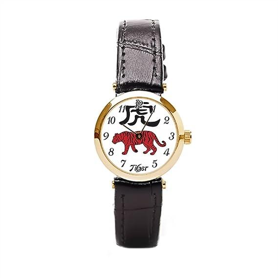 Ser un hombre piel Wrap Relojes Astrología espiritualidad año de la muñeca relojes Marcas: Amazon.es: Relojes