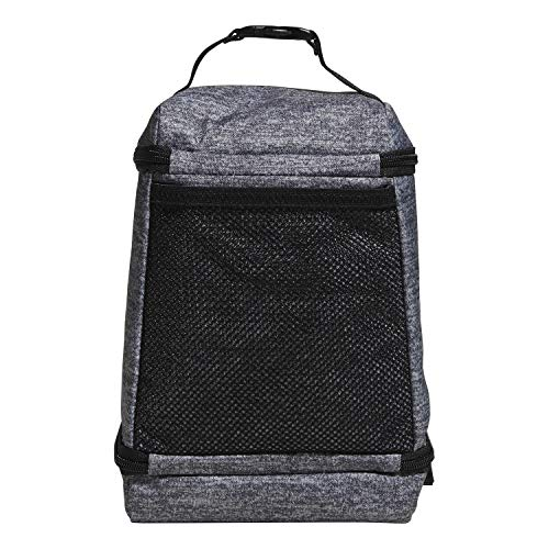 adidas Unisex Excel Insulated Lunch Bag, Onix Jersey/Black, ONE SIZE