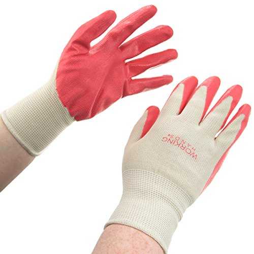 3 Pairs Women's Working Hands General Purpose Nitrile Coated