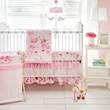 My Baby Sam Rosebud Lane 3 Piece Crib Bedding Set