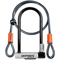 Kryptonite (001966/001072 ANTIRROBO U KRYPTOLOK Standard w/Flex Cable