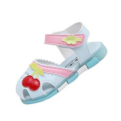 de68bee20b51bd TAIYCYXGAN Sommer Baby Sandalen Kinderschuhe Mädchen Süß Kirsche Sandalen  Sehr Bequem  Amazon.de  Schuhe   Handtaschen