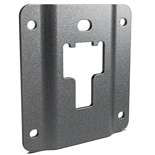 Bed Tie Down Hooks - Ronin Factory Ford F150 Truck Bed Cargo Tie Down Brackets (2015-Present) 4 Plates with Anti-Theft Screws