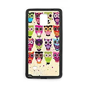 LTTcase Custom Owl Back Cover for samsung galaxy note4