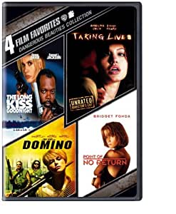 4 Film Favorites: Dangerous Beauties (The Long Kiss Goodnight, Point of No Return, Domino, Taking Lives) by Warner Home Video