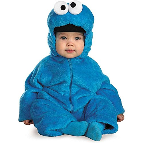 Cookie Monster Deluxe Toddler Costume - Baby 12-18
