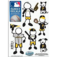 MLB Pittsburgh Pirates Small Family Decal Set